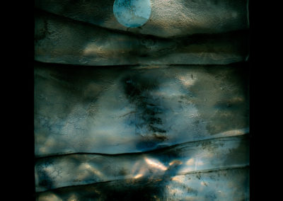 Moon over a Mayo beach - 2015